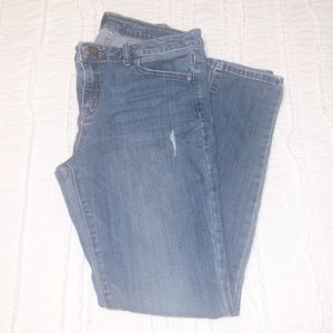 Simply Vera Vera Wang Skinny Mid Rise Jeans